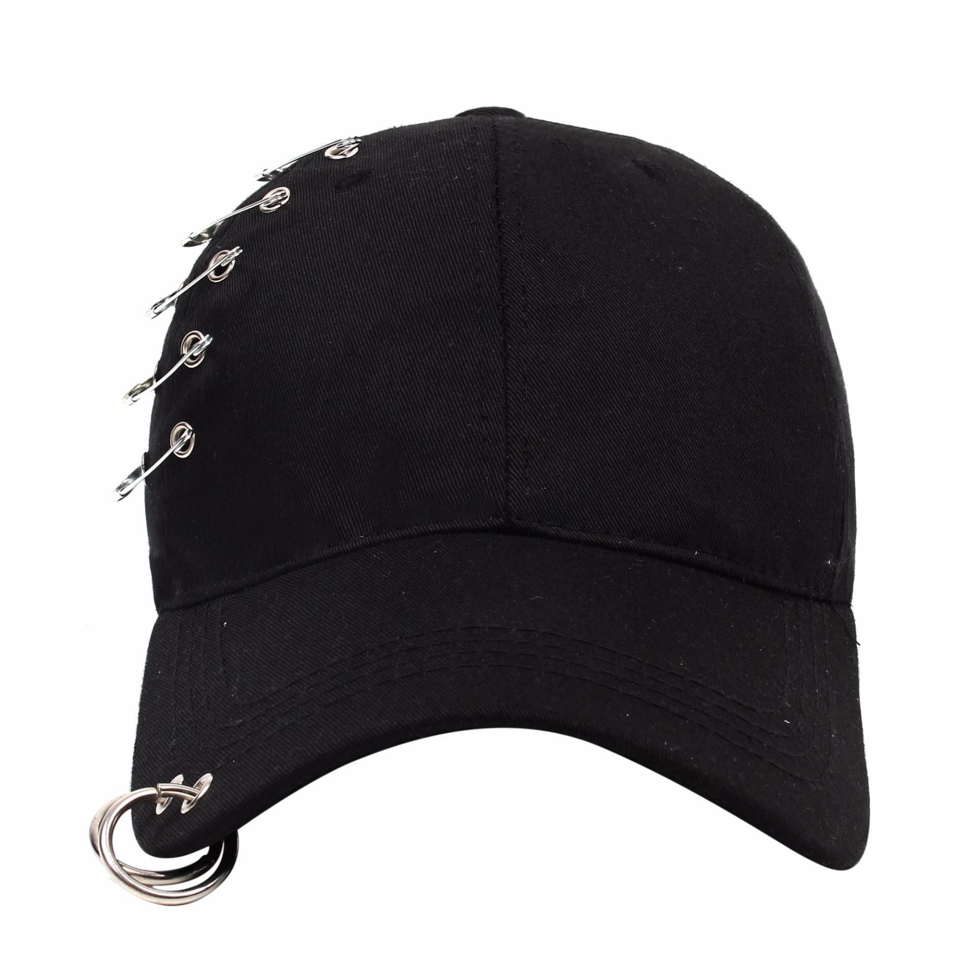 ... ayat yang sama klip topi baseball topi (Tali mauve abu. Source · Cap City Korean Style with 5 Pins and 2 Ring Pierce Design Baseball .