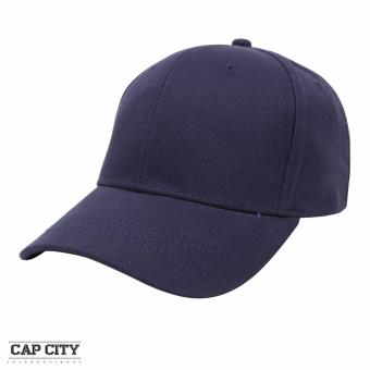 Cap City Plain Adjustable Street Casual Baseball Cap (Navy blue)