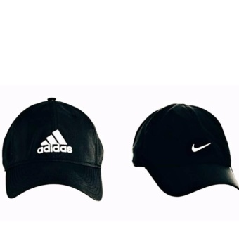 Cap Republic set B of A/D black & N/KE black