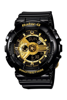 Casio Baby-G Women's Black Resin Strap Watch BA-110-1A