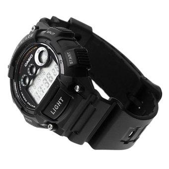 Casio Digital Men's Black Resin Strap Watch W-735H-1A - picture 2