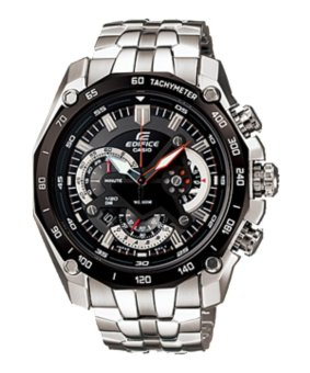 Casio Edifice Chronograph Men's Stainless Steel Strap Watch EF-550D