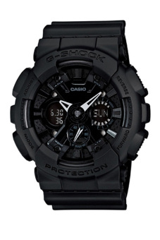Casio G-Shock Men's Black Resin Strap Watch GA-120BB-1A