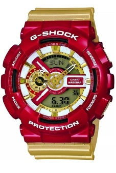 Casio G-Shock Men's Gold Resin Strap Watch GA-110CS-4A