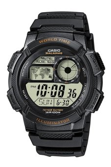 Casio Illuminator Men's Black Resin Strap Watch AE-1000W-1AVSDF