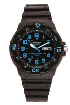 Casio Men's Black Resin Strap Watch MRW-200H-2BVDF