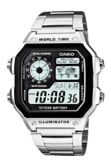 CASIO Men's Watch AE-1200WHD-1A (Silver) - picture 2