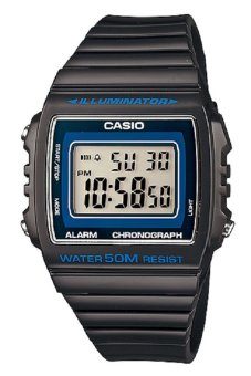 Casio W-215H-8AVDF Illuminator Alarm Charcoal Grey Unisex Sports Watch