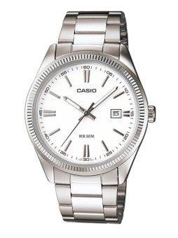 Casio Women's Silver Stainless Steel Strap Watch LTP-1302D-7A1VDF