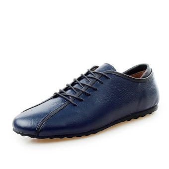 Casual Fashion Men Loafers - Dark blue