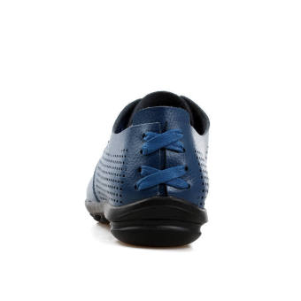 Casual Leather Fashion Loafers Shoes (Blue)