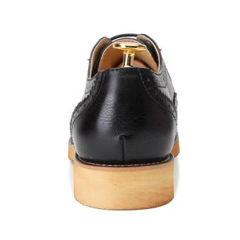 Casual Men Oxfords Formal Shoes - Black