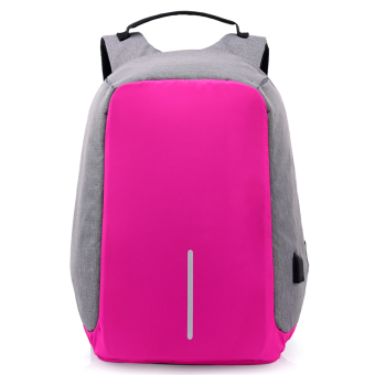Casual multi-functional travel men's backpack (Rose color single product)