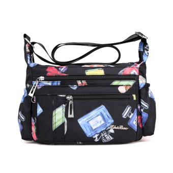 Casual nylon large capacity travel bag Oxford Cloth Bag (Perfume Bottle)