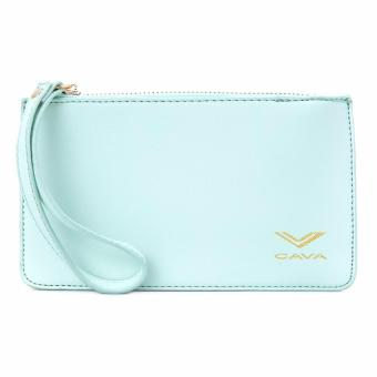 Cava C17MR747GN Saffiano Slim Wallet Wristlet (Mint Green) Price Philippines