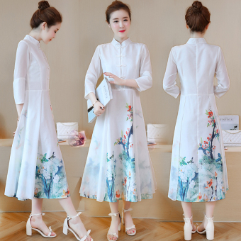 Chinese Color autumn New style dress Dress