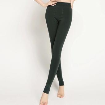 CHRLEISURE Hot 2017 New Fashion Women's Autumn And Winter HighElasticity And Good Quality Warm Leggings Thick Velvet PantsFree(Black) - intl - 3