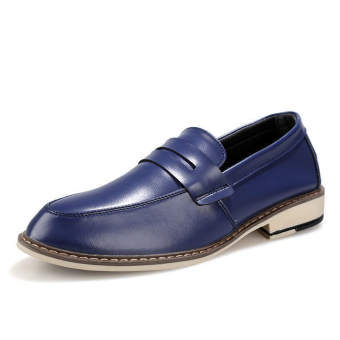 Classic Fashion Men Loafers (Blue) - picture 2