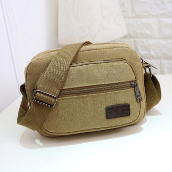 Classic New style multi-functional shoulder bag (Khaki)