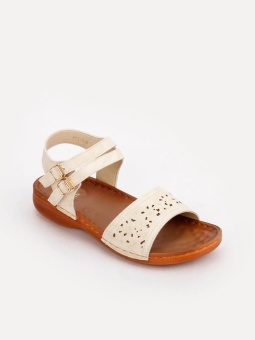 Cln 17G-Nadia Flat Sandals (Bone) Price Philippines