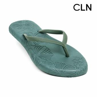 CLN Tyra Flip Flops Slippers (Green)