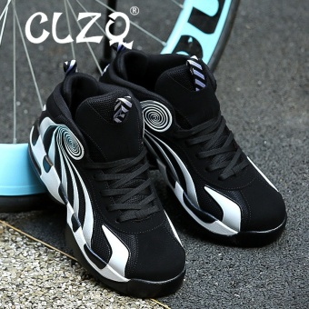 CLZQ Men Basketball Shoes 2017 Male Ankle Boots Anti-slip OutdoorSport Sneakers Black - intl - 3