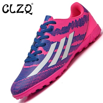 CLZQ Men 's Outdoor Sports Futsal Shoes Professional CompetitionTraining Sneakers Size33-45 Red - intl Price Philippines