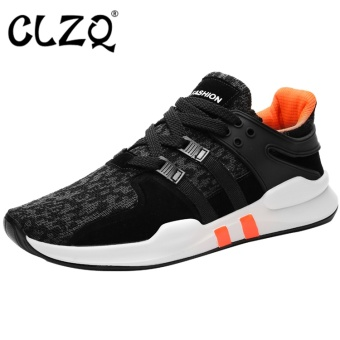 CLZQ Mens Running Shoes Mesh Breathable Anti-slip Outdoor Sport Sneakers Stability Shoes Hombre for Men-Orange - intl Price Philippines
