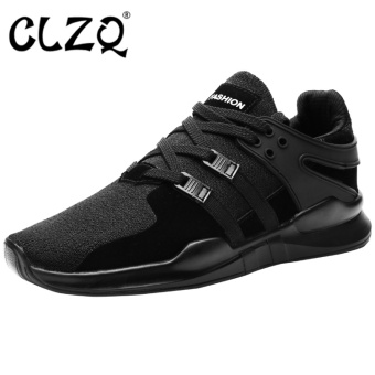 CLZQ Mens Running Shoes Mesh Breathable Anti-slip Outdoor SportSneakers Stability Shoes Hombre for Men-Black - intl Price Philippines
