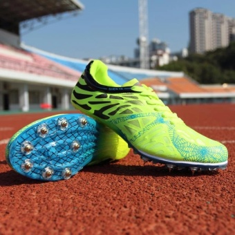 CLZQ Track Sports Running Shoes Spike Spikes Athletics TrainingShoes-Green - intl Price Philippines