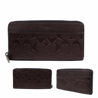 Coach Accordion Wallet in Signature Leather - Brown