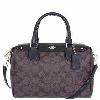 Coach Mini Bennett Satchel in Signature Black - F36702