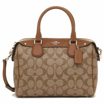Coach Mini Bennett Satchel in Signature Khaki - F58312
