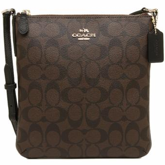 Coach North/South Crossbody In Signature Black - F35940 Price Philippines