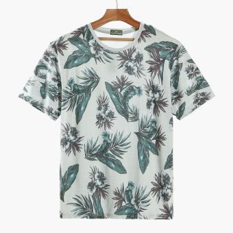 Coco Republic Mens Tropical Tee (Grey)