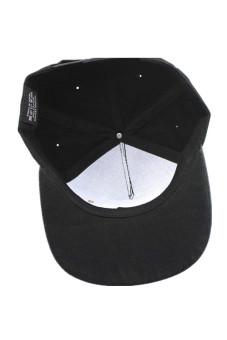 Cool Adjustable Snapback Hiphop Baseball Cap Hat Black - picture 2