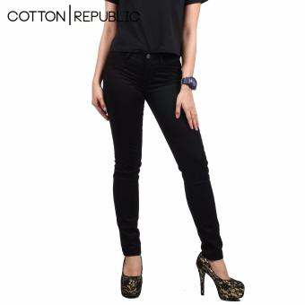 Cotton Republic Soft Stretchable skinny Jeans (Black) Price Philippines