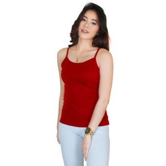 Cotton Republic Spaghetti Inner Blouse Red