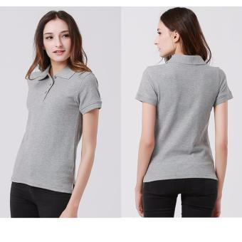 Couples Set of Quality Fashion Polo Shirts - Gray - 2