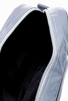Crimson Men's Messenger Bag with Print (Grey) - 5