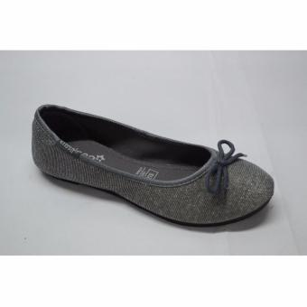 Crissa Steps Ayla Gray Flat shoes (Gray)