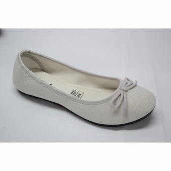 Crissa Steps Ayla Silver Flat shoes (Silver)