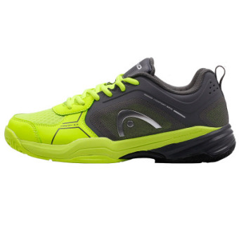 Cushion Damping Tennis Sneakers (Green/gray)