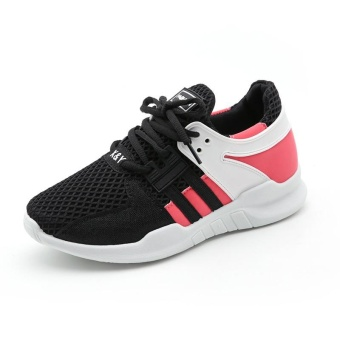 Cushioned Running Shoes for Women Sneakers 2017 Summer BreathableWomen Sport Shoes Jogging Ladies Walking Shoes (black) - intl