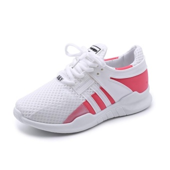 Cushioned Running Shoes for Women Sneakers 2017 Summer BreathableWomen Sport Shoes Jogging Ladies Walking Shoes (white) - intl