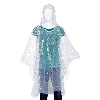 Cute Ball Case Disposable Raincoat, Set of 3 (Multicolor) - 3