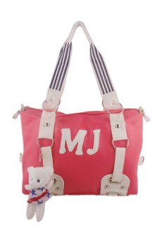 Cute Candy Diagonal Package Shoulder Bag (Red)