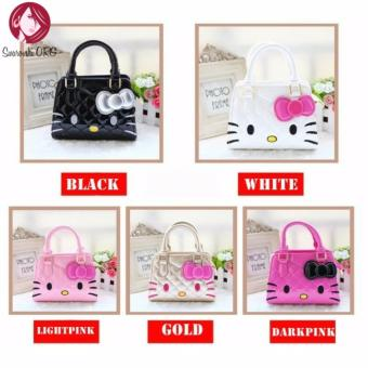 Cute Girl Hello Kitty Handbag Bag/Sling Bag (White)