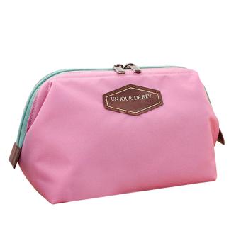 Cute Lady Travel Makeup Bag Pink