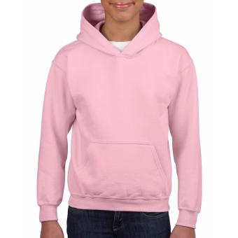 Cutton Tailored Plain Fleece Hoodie Jacket for kids (Light Pink)(Int:XS)